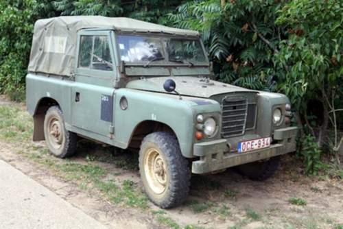 Land Rover Serie III service repair manuals