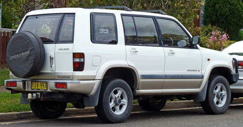 Holden Jackaroo service repair manuals