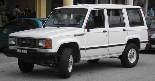Isuzu Trooper service repair manuals