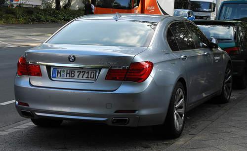 BMW ActiveHybrid 7 service repair manuals