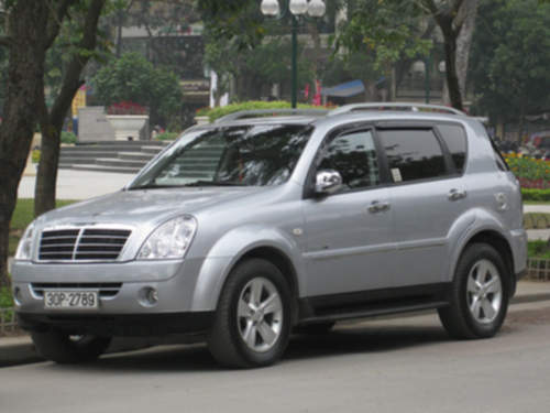 Ssangyong Rexton service repair manuals