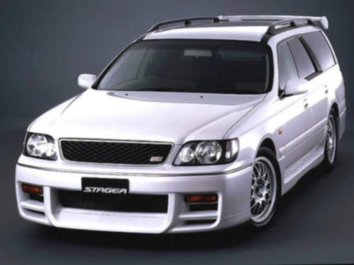 Nissan Stagea service repair manuals