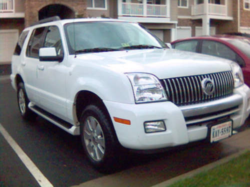 Mercury Mountaineer service repair manuals