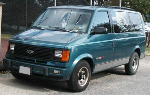 Chevrolet Astro service repair manuals