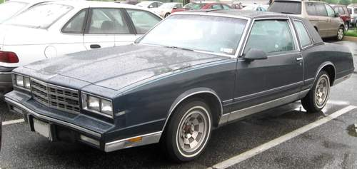 Chevrolet Monte Carlo service repair manuals