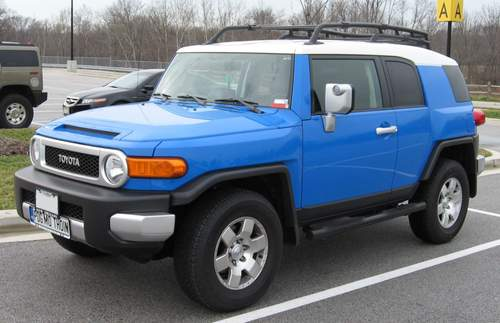 Toyota FJ Cruiser service repair manuals