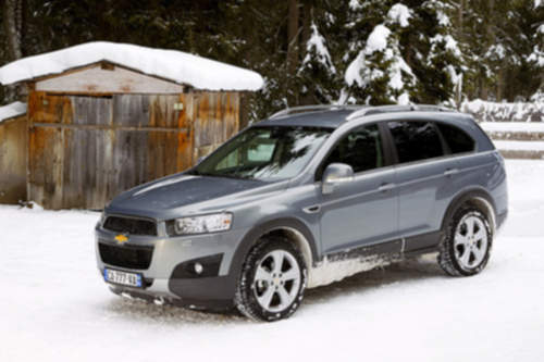 Chevrolet Captiva service repair manuals