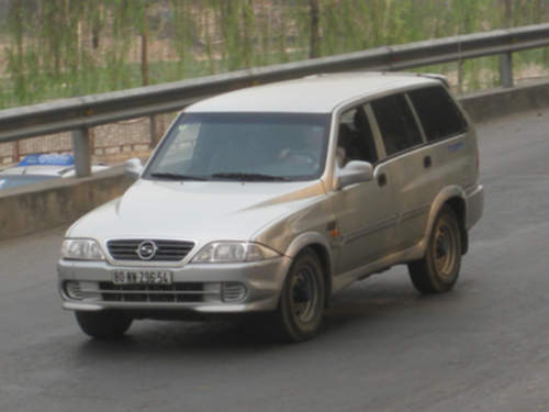 Ssangyong Musso service repair manuals