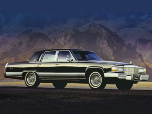 Cadillac Brougham service repair manuals