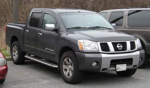 Nissan Titan service repair manuals