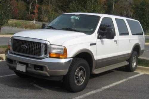 Ford Excursion service repair manuals