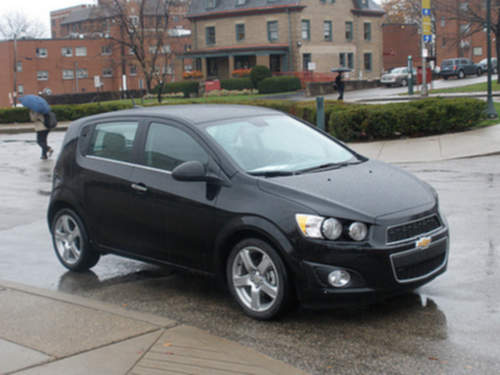 Chevrolet Sonic service repair manuals