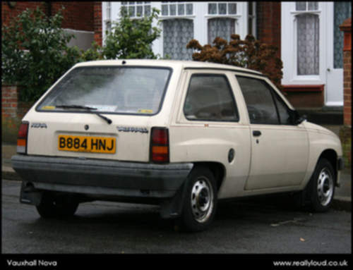 Vauxhall Nova service repair manuals