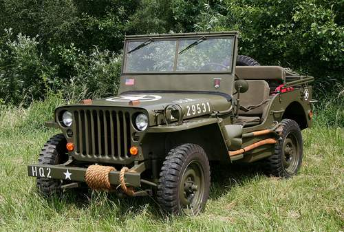 Jeep Willys service repair manuals