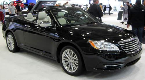 Chrysler 200 CONVERTIBLE service repair manuals