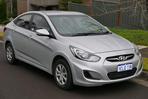 Hyundai Accent service repair manuals