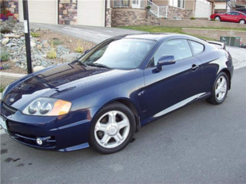 Hyundai Tiburon service repair manuals