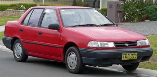 Hyundai Excel service repair manuals