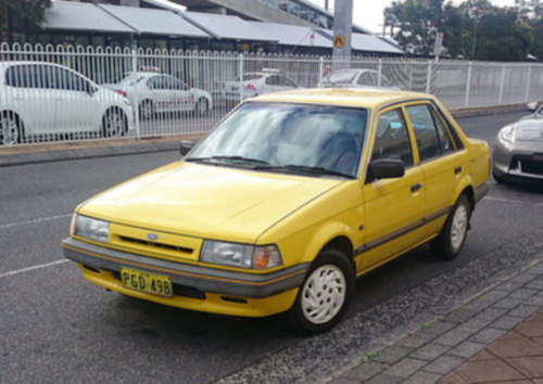 Ford Laser service repair manuals