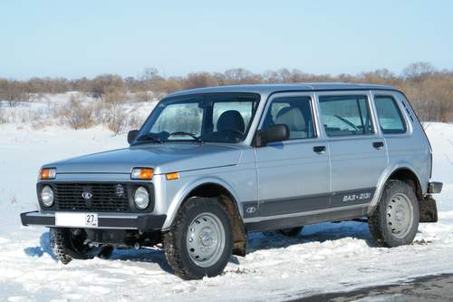 Lada Niva service repair manuals