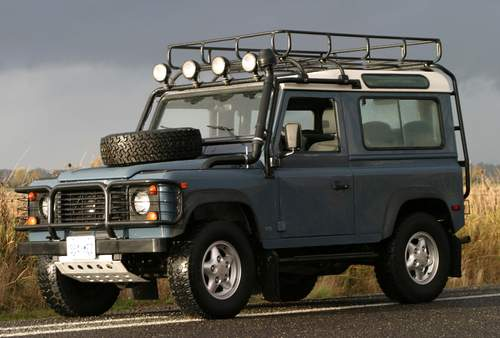 Land Rover Defender service repair manuals