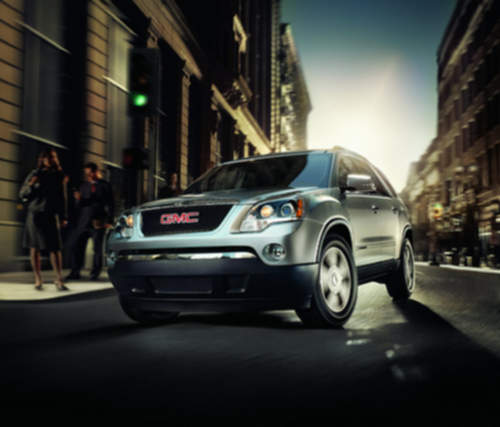 GMC Acadia service repair manuals