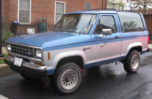 Ford Bronco II service repair manuals