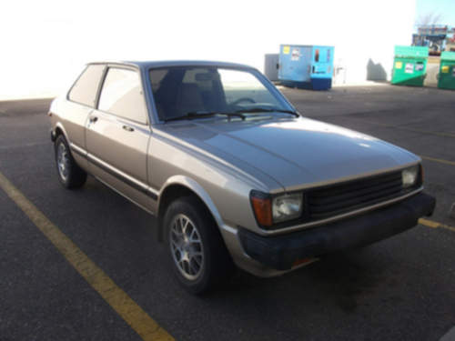 Toyota Tercel service repair manuals