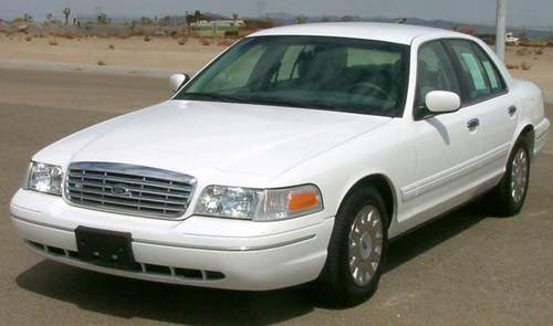 Ford Crown Victoria service repair manuals