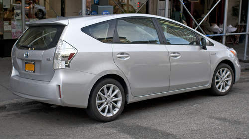 Toyota Prius V service repair manuals