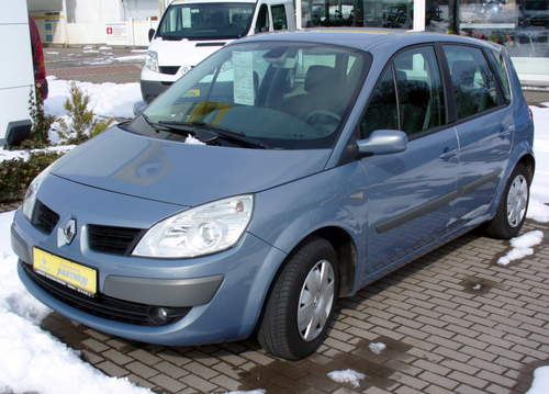 Renault Scenic II service repair manuals