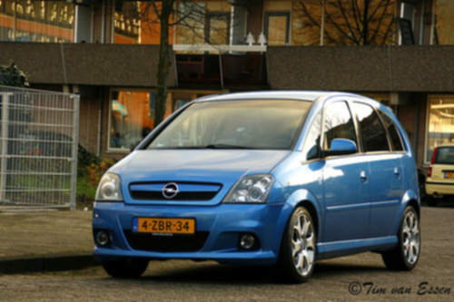 Opel Meriva service repair manuals