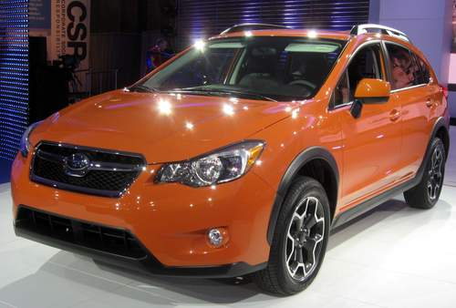 Subaru XV Crosstrek service repair manuals