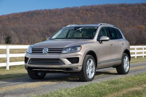 Volkswagen Touareg service repair manuals