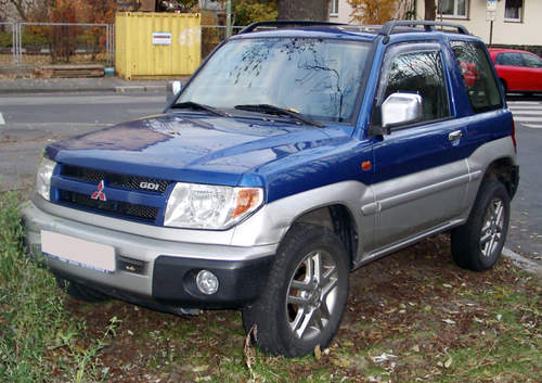 Mitsubishi Shogun Pinin service repair manuals