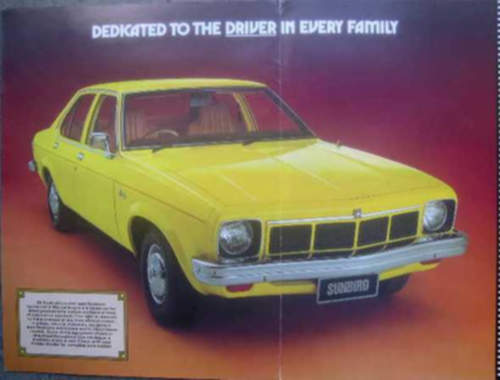 Holden Sunbird service repair manuals