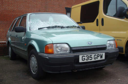 Ford Escort service repair manuals