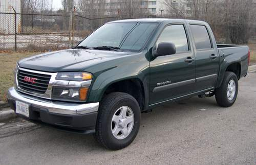 GMC Canyon service repair manuals