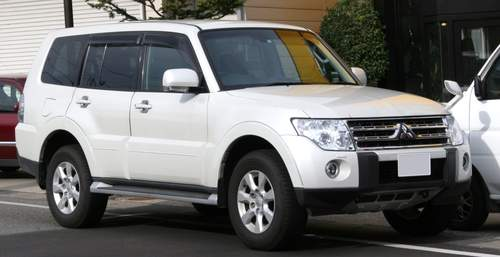 Mitsubishi Montero service repair manuals