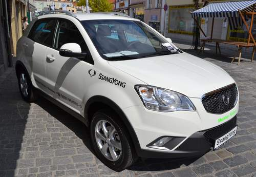 Ssangyong Korando service repair manuals