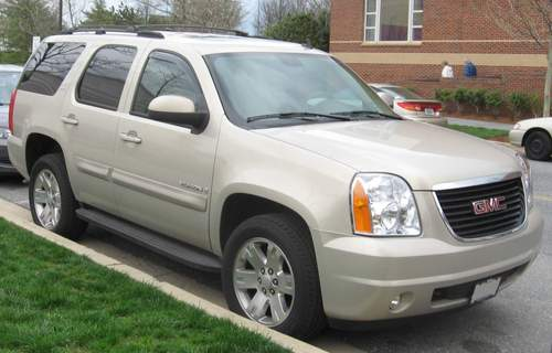 GMC Yukon service repair manuals