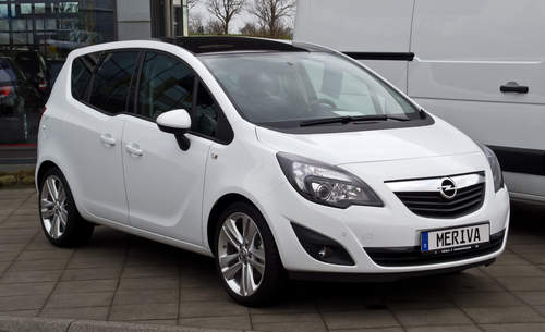 Vauxhall Meriva service repair manuals