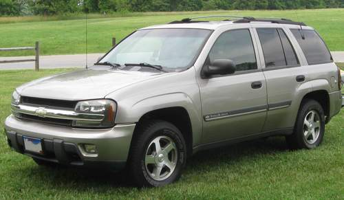 Chevrolet Trailblazer service repair manuals