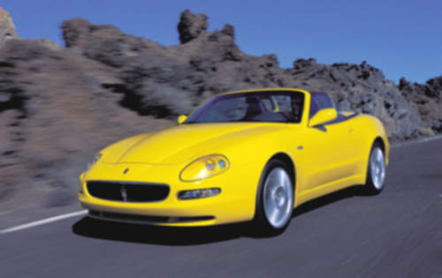 Maserati Spyder service repair manuals