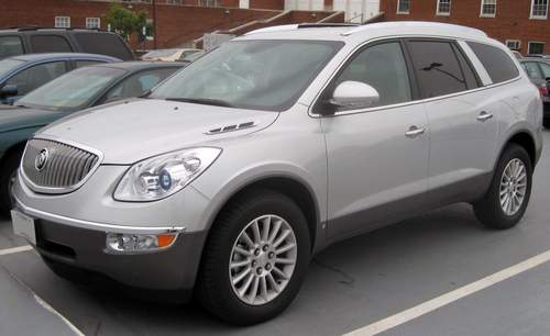 Buick Enclave service repair manuals