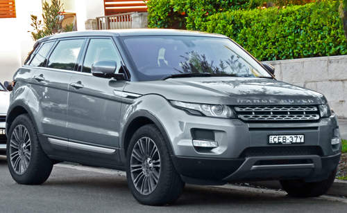 Land Rover Range Rover Evoque service repair manuals