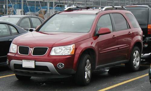 Pontiac Torrent service repair manuals
