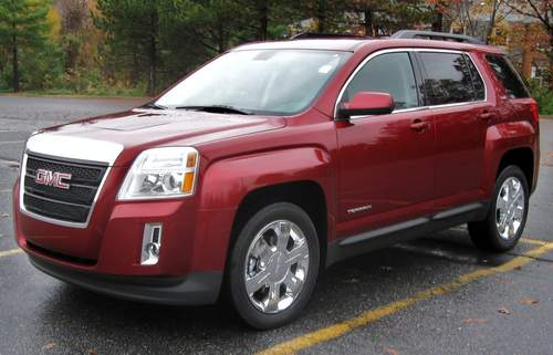 GMC Terrain service repair manuals