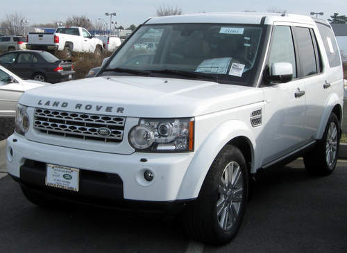 Land Rover LR4 service repair manuals