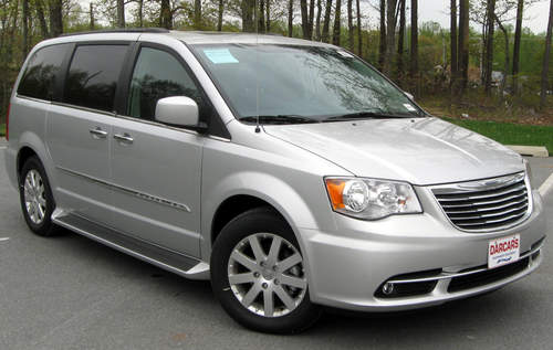 Chrysler Town & Country service repair manuals